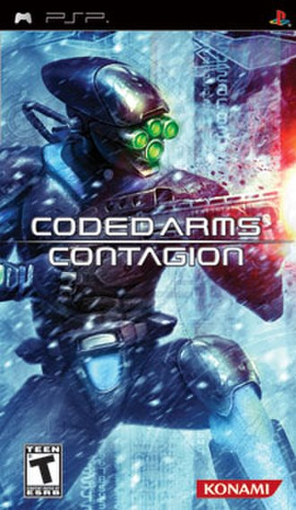 Coded Arms: Contagion - Cover art