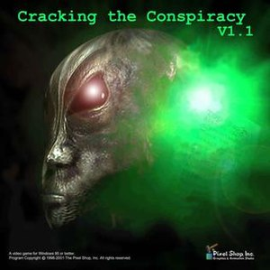 Cracking the Conspiracy - Image: Cracking the Conspiracy Cover