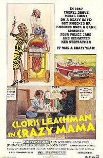 <i>Crazy Mama</i> 1975 film by Jonathan Demme