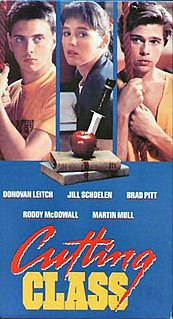 <i>Cutting Class</i> 1989 American dark comedy slasher film by Rospo Pallenberg