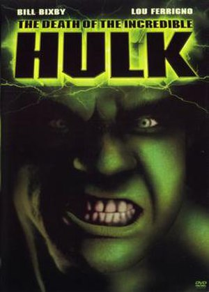 The Death of the Incredible Hulk - Image: DVD cover of the movie The Death of the Incredible Hulk