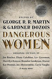 <i>Dangerous Women</i> (anthology) book by George R.R. Martin