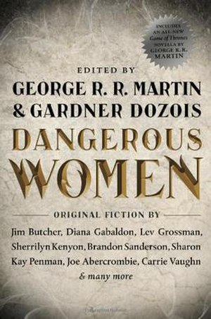 Dangerous Women (anthology) - First edition cover