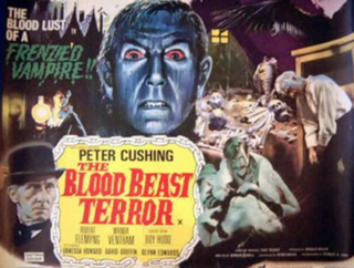 <i>The Blood Beast Terror</i> 1968 film by Vernon Sewell