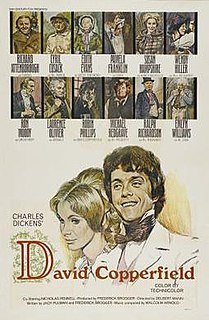 <i>David Copperfield</i> (1969 film) 1969 British American international co-production television film directed by Delbert Mann