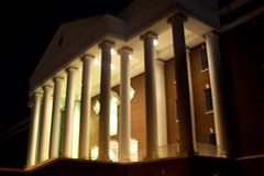 Liberty's DeMoss Hall, the campus's main academic building
