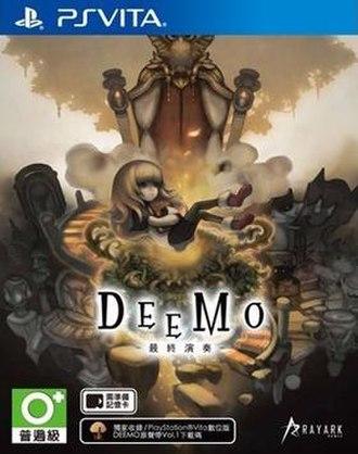 Deemo - Taiwanese PlayStation Vita cover art