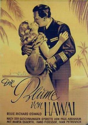 The Flower of Hawaii (1933 film) - Image: Die Blume von Hawaii
