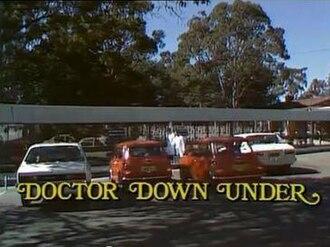 Doctor Down Under - Image: Docdownundertitle