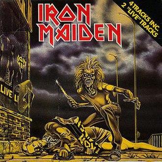 """Sanctuary (Iron Maiden song) - Image: Dutch Sanctuary 12"""""""