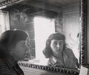Esther Bubley - Esther Bubley, self-portrait c. 1950