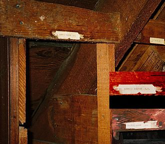 Benny Benson - Benny and Carl's cubby-holes still exist in the former Jesse Lee Home in Seward, Alaska.