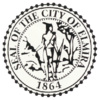 Official seal of Elmira