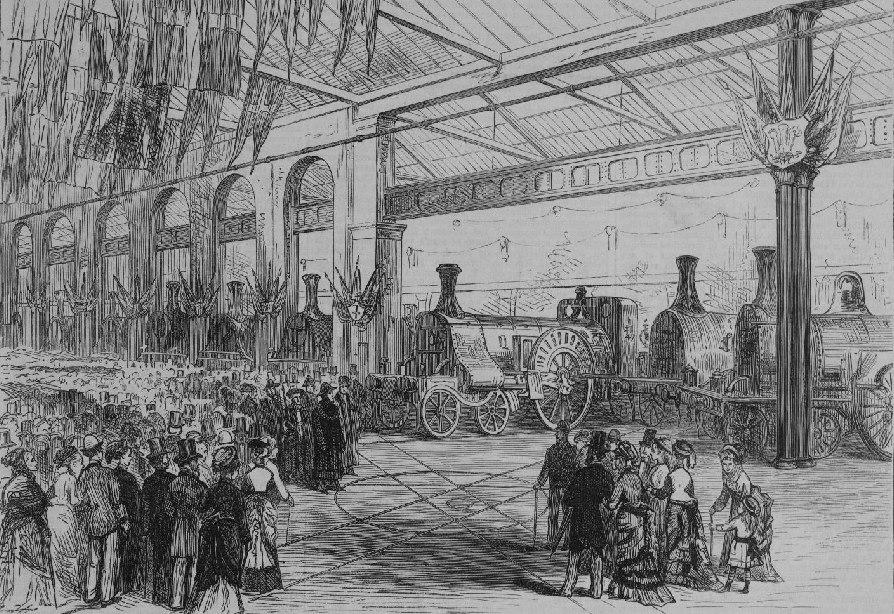 Exhibition of the Locomotives (ILN, en)