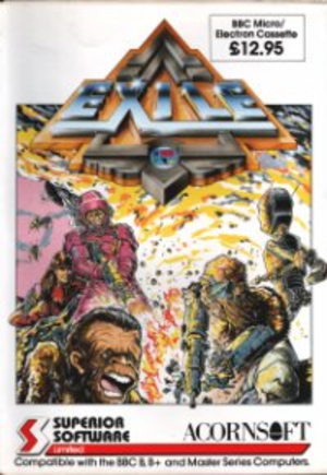 Exile (1988 video game) - Exile