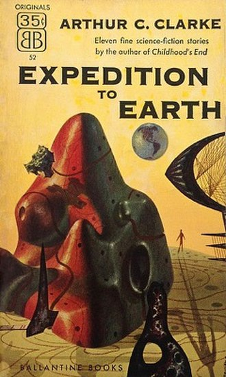 Expedition to Earth - Cover of the first edition