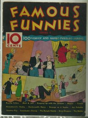 Famous Funnies - Famous Funnies: Series 1 (1934), the second precursor