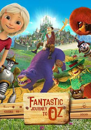 Fantastic Journey to Oz - Theatrical release poster