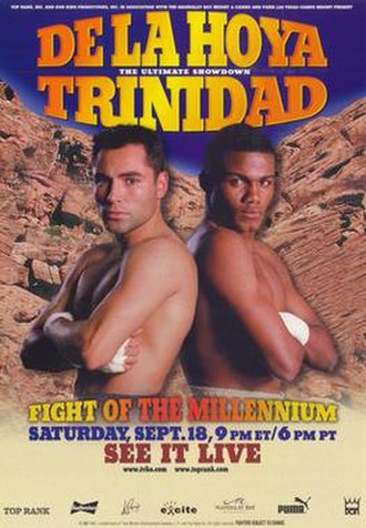 Felix Trinidad vs. Oscar De La Hoya - Image: Fight of the Millennium