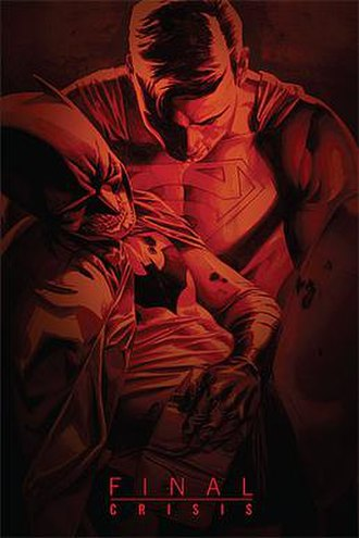 Final Crisis - Cover art of the Final Crisis hardcover by J. G. Jones