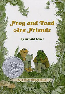 Frog and Toad book by Arnold Lobel