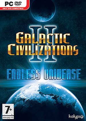 Galactic Civilizations II: Dread Lords - Cover art for Endless Universe
