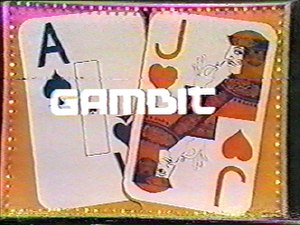 Gambit (game show) - Logo used from 1972 to 1976.