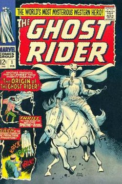 Western Ghost Rider Costume