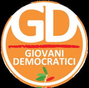 Young Democrats (Italy) - Image: Giovani Democratici logo