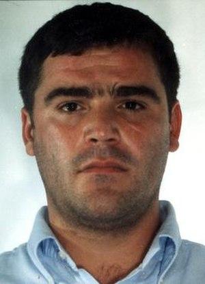 Giuseppe Setola - January 2009 mugshot of Setola