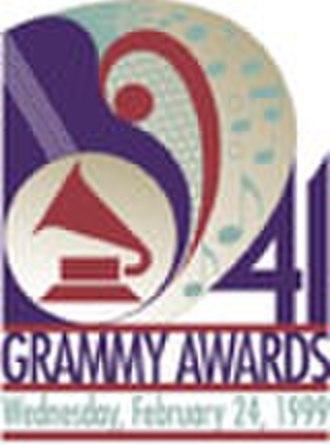 41st Annual Grammy Awards - Image: Grammy 41logo