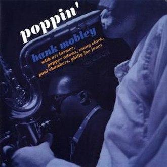 Poppin' (album) - Image: Hank Mobley Poppin 2