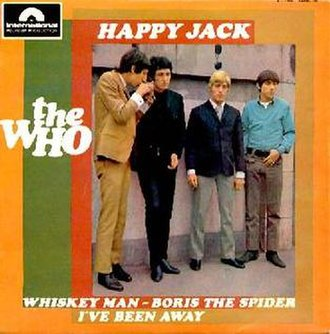 Happy Jack (song) - Image: Happy Jack song cover