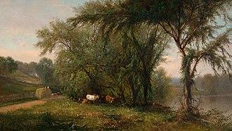James McDougal Hart - Image: Hart Gleneida Lake Putnam County NY 1863
