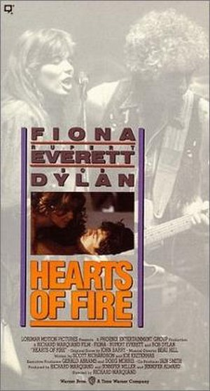 Hearts of Fire - VHS cover of Hearts of Fire