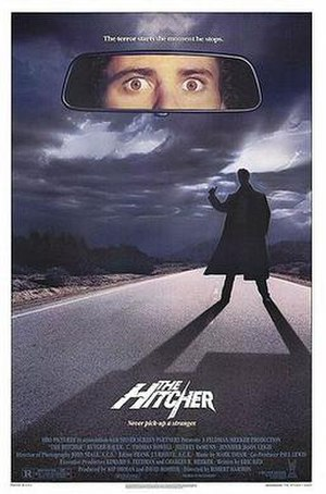 The Hitcher (1986 film) - Theatrical release poster