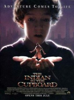 <i>The Indian in the Cupboard</i> (film) 1995 film by Frank Oz