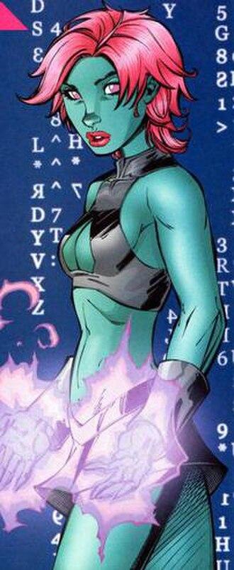 Brainiac 8 - Image: Indigo DC