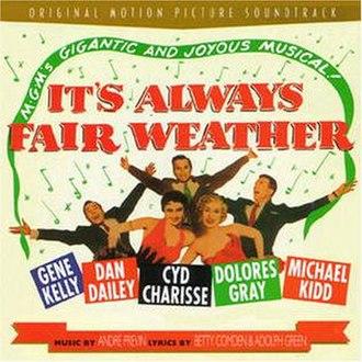 It's Always Fair Weather - Image: It's Always Fair Weather (André Previn album) coverart