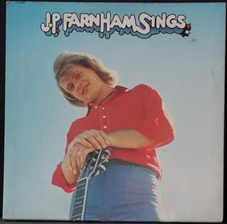 J.P. Farnham Sings - Image: JP Farnham Sings