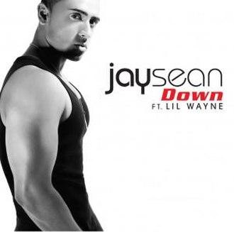 Down (Jay Sean song) - Image: Jay Sean Ft. Lil Wayne Down