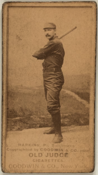 John Harkins (1888 baseball card).png