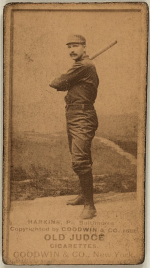 John Harkins - Image: John Harkins (1888 baseball card)