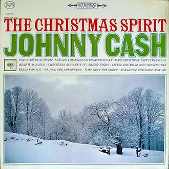The Christmas Spirit - Image: Johnny Cash Christmas Spirit