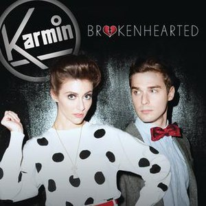 Brokenhearted (Karmin song) - Image: Karmin Brokenhearted single cover
