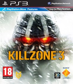 European cover art of Killzone 3