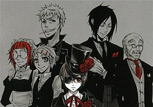 List Of Black Butler Characters Wikipedia
