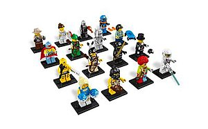 Lego Minifigures (theme) - The 16 units in Series 1
