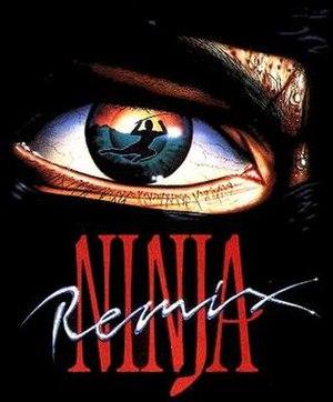 The Last Ninja (series) - C64 cover for Last Ninja Remix
