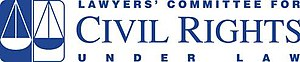 Lawyers' Committee for Civil Rights Under Law - Image: Lawyers Committee logo